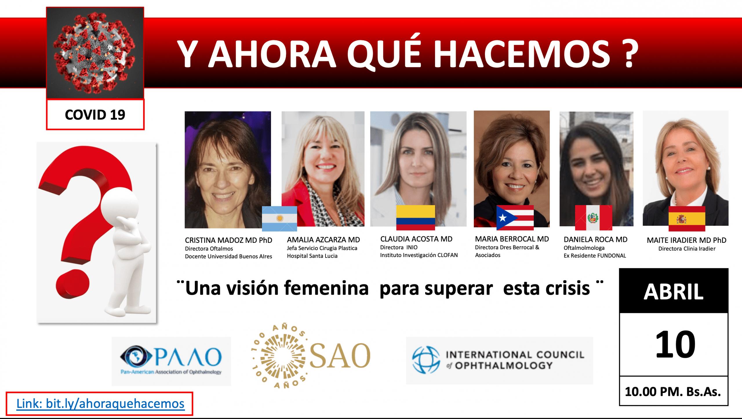 Panel: Una vision femenina para superar esta crisis