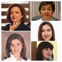 Dra Silvia Moguel, Dra Angela Fernandez, Dra Rosana Vidal, Dra Adriana Solano, Dra Leticia Muive